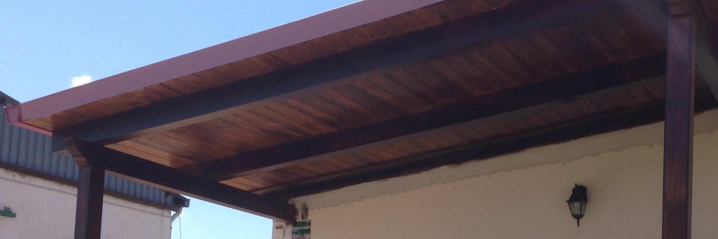 riparazione tetto in legno