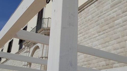 Calice di San Lorenzo- Allestimento Stand In Legno 3