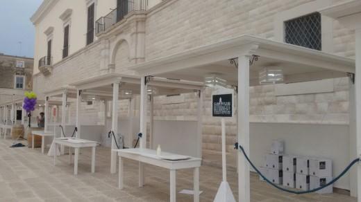 Calice di San Lorenzo- Allestimento Stand In Legno 6